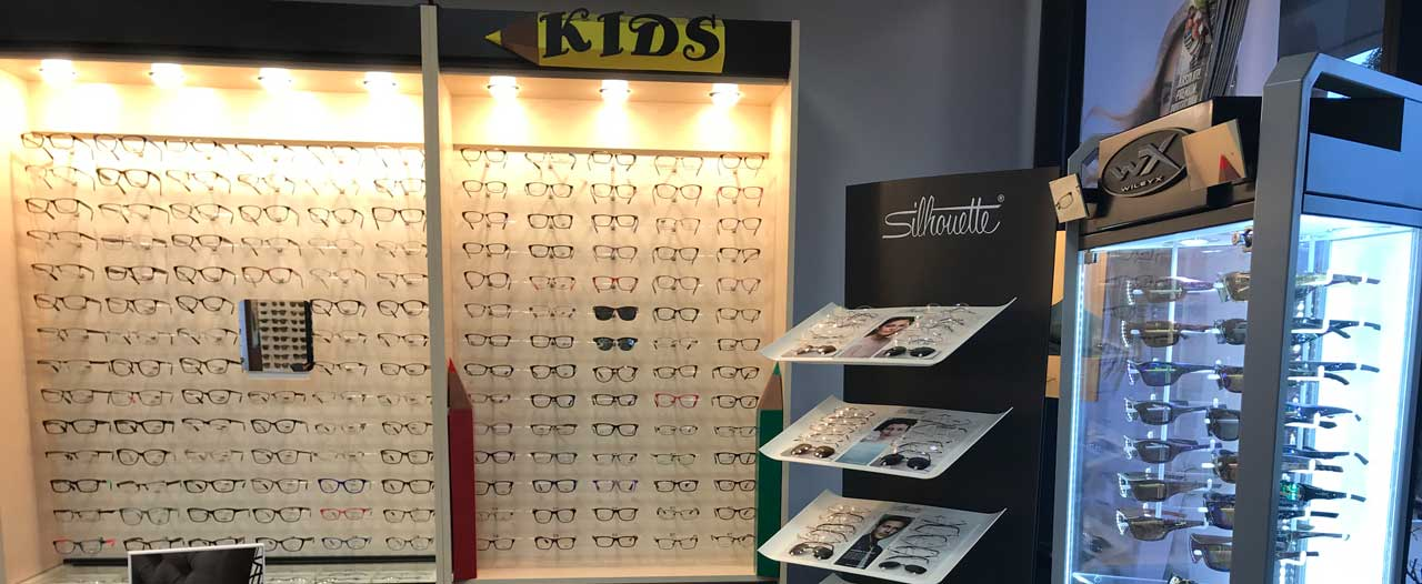 eyeglases at crystal eye care